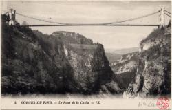 Gorges du Fier : Le Pont de la Caille