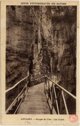Sites Pittoresques de Savoie : Lovagny ; Gorges du Fier ; Les Crues