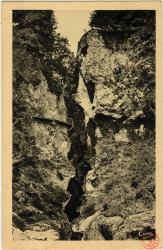 La Savoie : Les Gorges du Fier ; Entrée dy Gouffre