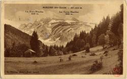 Morzine (Hte-Savoie) : Alt. 1000 m.