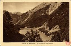 Le lac de Montriond : Alt. 1.049 m. (Hte-Savoie)