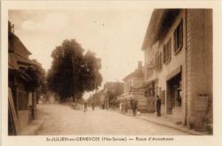 St-Julien-en-Genevois (Hte-Savoie) : Route d'Annemasse