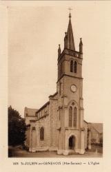 St-Julien-en-Genevois (Hte-Savoie) : L'Eglise