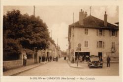 St-Julien-en-Genevois (Hte-Savoie) : Rue Centrale