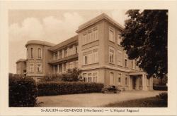 St-Julien-en-Genevois (Hte-Savoie) : L'Hôpital Régional