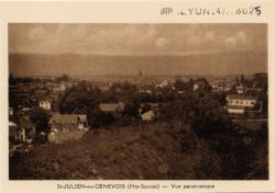St-Julien-en-Genevois (Hte-Savoie) : Vue panoramique