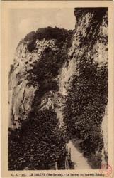 Le Salève (Hte-Savoie) : Le Sentier du Pas-de-l'Echelle