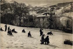 Bonne Maman : Home d'enfant ; Saint-Gervais-les-Bains (Haute-Savoie)