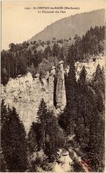 St-Gervais-les-Bains (Hte-Savoie) : La Cheminée des Fées