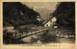Saint-Gervais-les-Bains : Pont de la Cascade