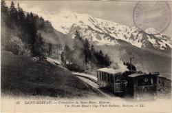 Saint-Gervais : Crémaillère du Mont-Blanc, Motivon