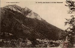 Novel (Hte-Savoie) et le Mont Blanchard