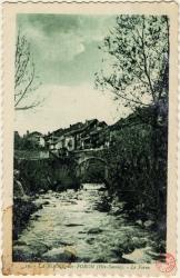 La Roche-sur-Foron (Hte-Savoie) : Le Foron