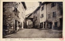La Roche-sur-Foron : Porte des Fours