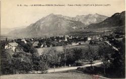 La Roche-sur-Foron (Hte-Savoie) : Pointe d'Andey (1879m) et le Jalouve (2438m)