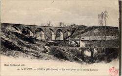 La Roche-sur-Foron (Hte-Savoie) : Les trois Ponts de la Bénite Fontaine