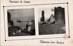 Thonon-les-Bains (Haute-Savoie) : Les bords du Lac Leman
