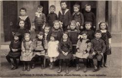 Institution St-Joseph, Thonon-les-Bains (Haute-Savoie) : La classe enfantine
