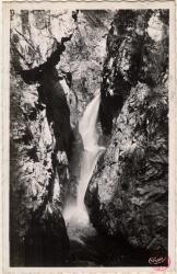 Servoz (Hte-Sav) : Gorges de la Diosaz ; Cascade de la Cachette