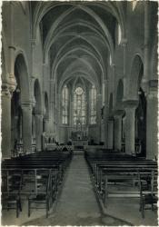 Sevrier (Hte-Savoie) : L'Eglise (intérieur)