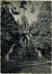 Sevrier (Hte-Savoie) : La Grotte de N.-D. de Lourdes