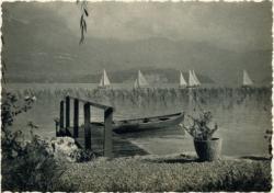 Sevrier (Hte-Savoie) : Les voiliers