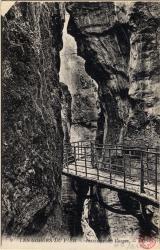 Les Gorges du Fier : Intérieur des Gorges