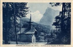 Samöens (Hte-Savoie) Alt. 700m. : Le Criou et la Chapelle du Bérouze
