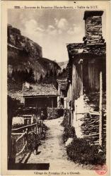 Environs de Samoëns (Haute-Savoie) : Vallée de Sixt ; Village de Frenalay (Fer à Cheval)