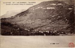 La Savoie : Lac d'Annecy ; Talloires (possède une ancienne Abbaye de Bénédictins)