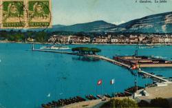 Genève. La jetée