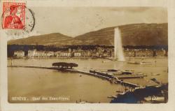 Genève. Quai des Eaux-Vives