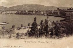 Genève - Monument Brunswick