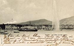 Genève - Jet d'eau de 90 mètres