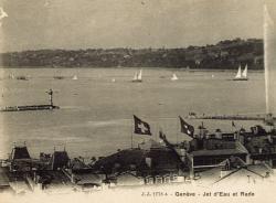 Genève - Jet d'eau et Rade