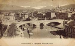 Genève - Vue prise de St Jean