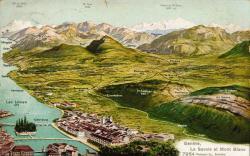 Genève - La Savoie et Mont Blanc.