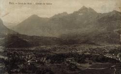 Bex - Dent du Midi - Vallée du Rhône.
