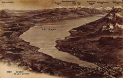 Genève et Lac Léman.
