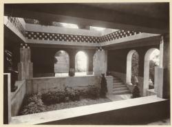 [Villa Gros à Saint-Didier-au-Mont-d'Or : le patio]