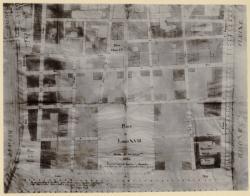 [Plan de nivellement pour le nouveau quartier de Perrache, 11 septembre 1826]