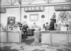 [Foire internationale de Lyon : stand Siga, matériel de plomberie-soudure]