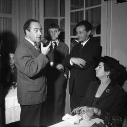 Maurice Montans, Jean-Louis Barrault et Roger Planchon