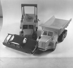 La fabrication des petites voitures Norev