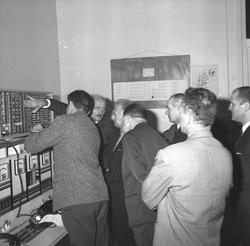 Inauguration P.T.T. Villeurbanne et Centrale téléphonique