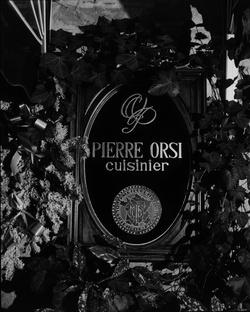 [Restaurant Pierre Orsi]