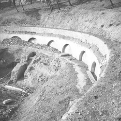 Fouilles archéologiques à l'amphithéâtre de la Croix-Rousse