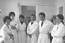 Service du professeur Traeger à l'hôpital de l'Antiquaille