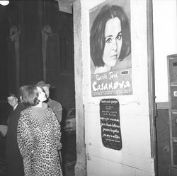 Marie-José Casanova en visite à Lyon