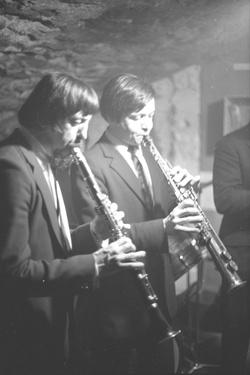 Raoul Bruckert : Hot Club (clarinette)
